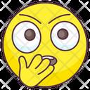 Oh Gosh Emoji Embarrassed Expression Emotag Icon