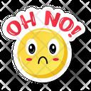 Oh No Face Icon