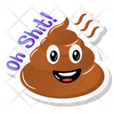 Oh Shit Poop Icon