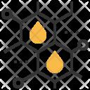 Oil Molecule Research Icon