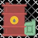 Oil Ecology Barrel Icon