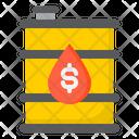 Oil Fuel Gas Icon