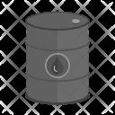 Oil Barrel Cane Icon