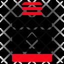Oil Jar Hair Icon