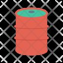 Oil Drum Fuel Icon