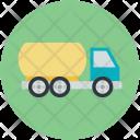 Oil Tanker Truck Icon