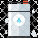 Oil Container Barrel Icon