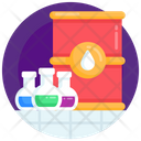 Chemical Oil Lab Oil Oil Analysis Icon