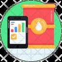 Petroleum Analytics Oil Analytics Online Oil Analytics Icon