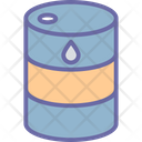 Barrel Gasoline Oil Icon