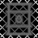 Oil Barrel Petroleum Icon