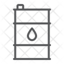 Oil Barrel Container Icon