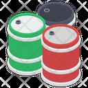 Oil Barrels Oil Drums Crude Oil Icon