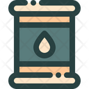Oil Barrel Tank Icon