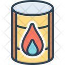 Oil Barrel Barrel Chemical Icon