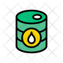Barrel Fuel Drum Icon