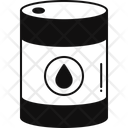 Oil Barrel Lubricants Water Barrel Icon