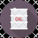 Oil Barrel Drum Icon