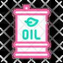 Oil Barrel Biofuel Icon