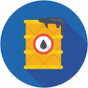 Oil Barrel Drum Icon
