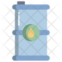 Oil Eco Barrel Fuel Icon