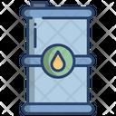 Oil Barrel Oil Eco Barrel Icon