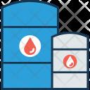 Oil Barrel Container Icon