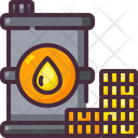Oil Barrel Crude Oil Barrel Icon