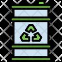 Oil Barrel Barrel Ecology Icon