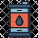 Oil Barrel Industry Icon
