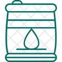 Barrel Oil Container Icon