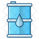 Oil Barrel Fuel Icon