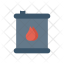 Barrel Oil Paint Icon