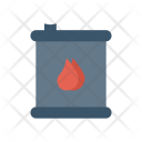 Oil Barrel Paint Icon