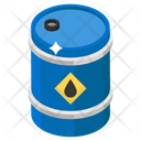 Oil Spill Chemical Spill Petroleum Container Icon