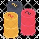 Barrel Oil Oil Drums Oil Container Icon