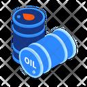 Oil Barrels Oil Can Barrels Icon