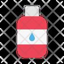 Oil Bottle Construction Icon