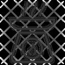 Oil Burner Icon
