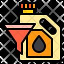 Oil Funnel Car Service Icon