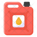 Fuel Can Oil Can Petrol Can Icon