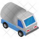 Logistics Delivery Oil Container Icon