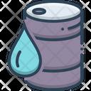 Crude Drop Container Icon
