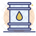 Oil Cylinder Natural Gas Gasoline Icon