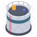 Oil Tank Oil Store Oil Pool Icon