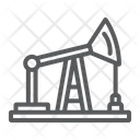 Oil Pump Production Icon