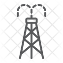 Oil Derrick Tower Icon