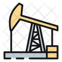 Oil Derrick United States America Icon