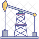 Oil Drilling Oil Rigs Oil Well Drilling Icon