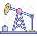 Oil Drilling Machine Oil Drilling Machine Icon Petroleum Drilling Machine Icon
